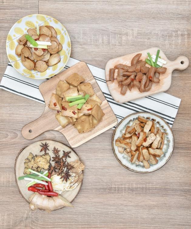 客製化(豆干+百頁+素雞+蒟蒻以上四種可任由搭配) 1